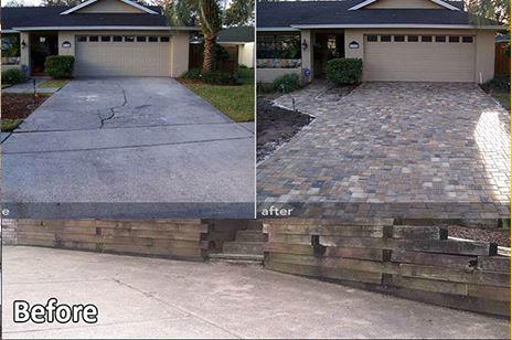 asphalt/pavers