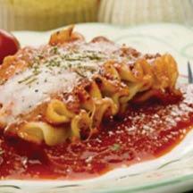 Lasagna from mama Luigi's.