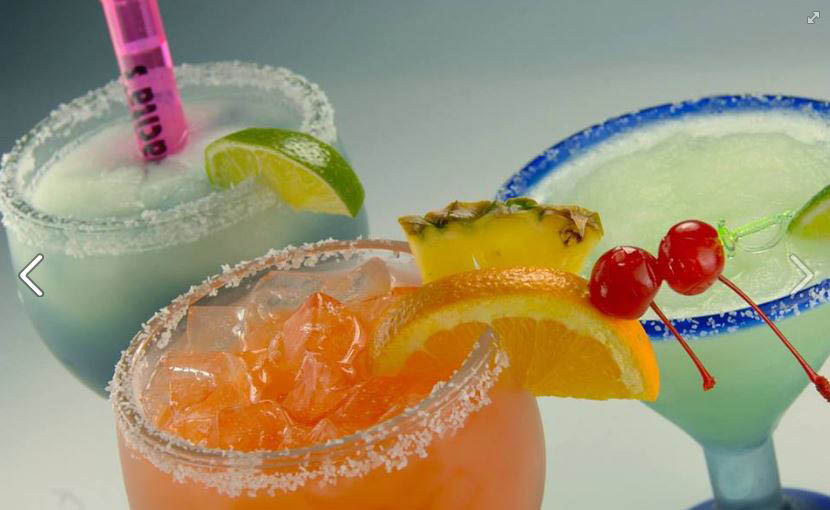 Margarita specials and drinks at Mamacita's Mexican Restaurant happy hour specials