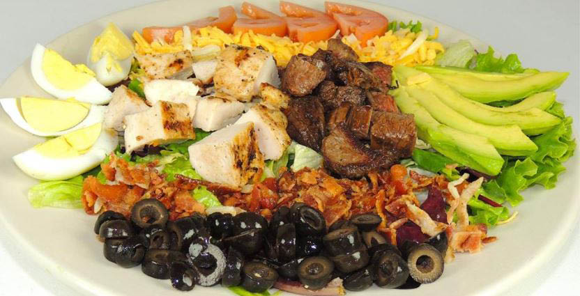 Grilled chicken Mexican cobb salad