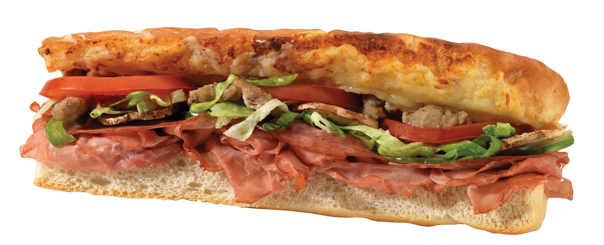 photo of Italian sub from Mancino's Pizza & Grinders in Brighton, MI