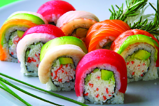 Get sushi and other Japanese food near Elwood, NY