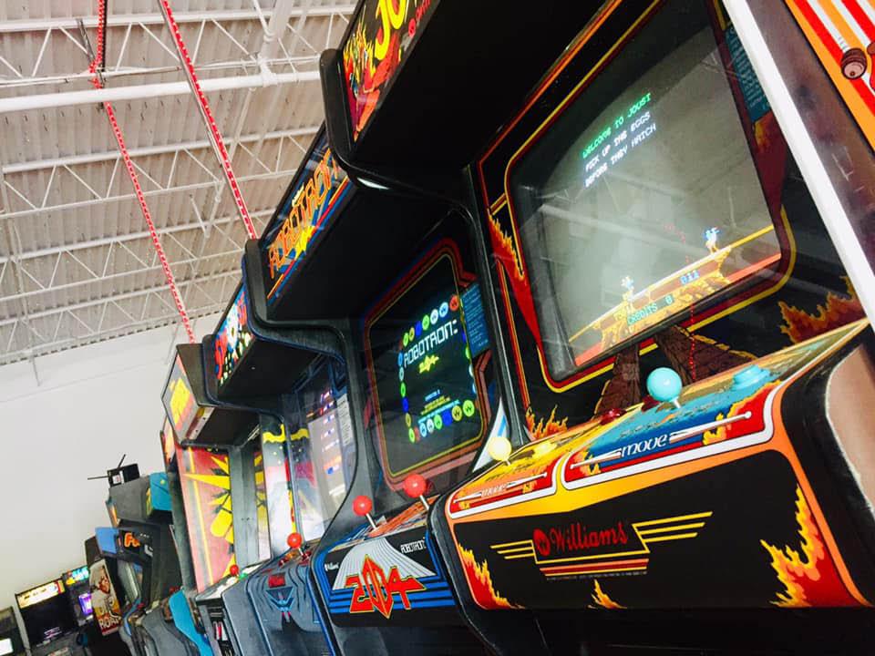 Vintage Arcade Games at Marcade Family Fun Center in Rockaway, NJ