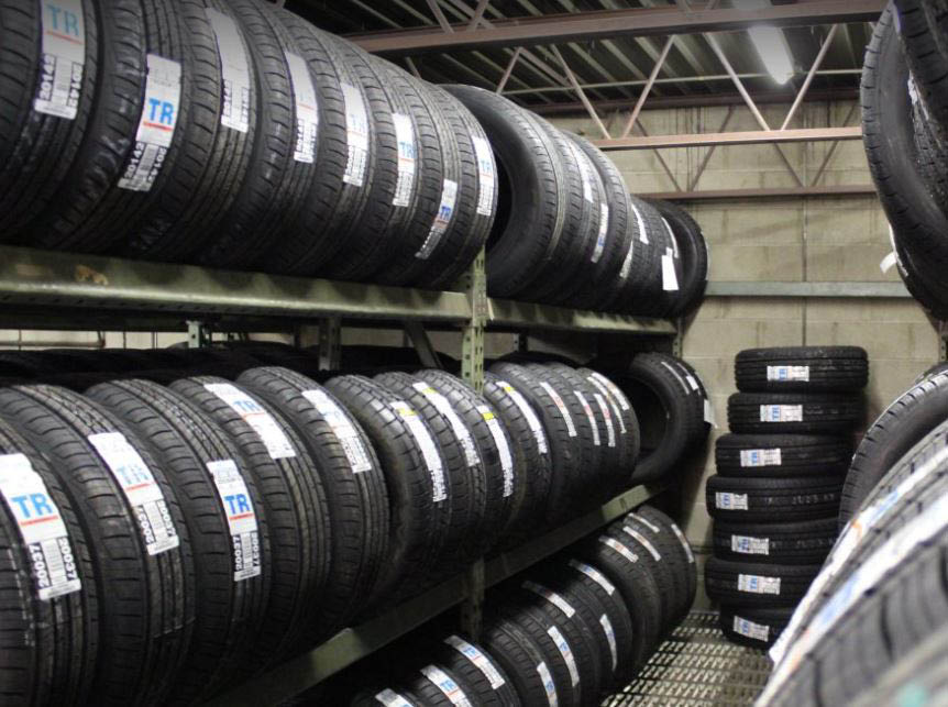 photo of tires at March Tire Co. in Plymouth, MI
