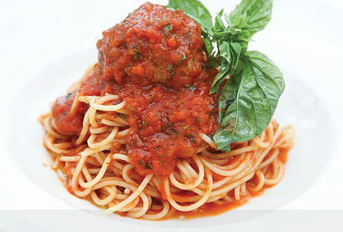 spaghetti and meatballs near Studio City