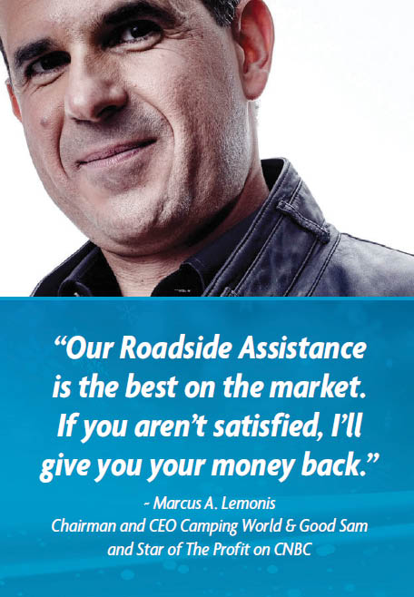 MeMber benefit brochure GooD SAM roADSiDe ASSiStAnce For hour roadside assistance call toll-Free Benefits and services provided by Americas Road & Travel Club, Inc.