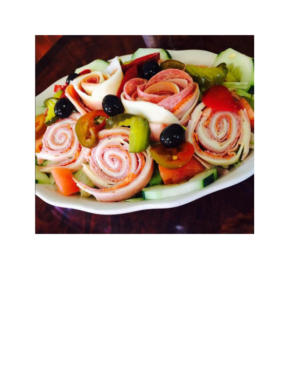 Antipasto from Maria's Pizzeria & Restaurant in Wharton NJ