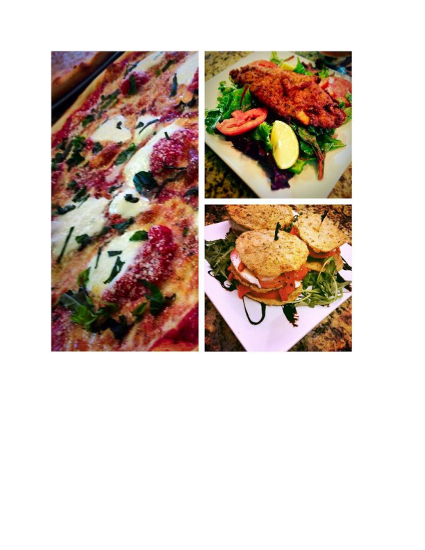 Several dishes available at Maria's Pizzeria & Restaurant in Wharton NJ