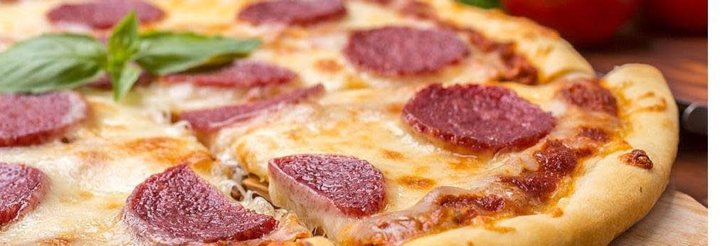photo of pizza from Marina's Restaurant in Westland, Wayne, Garden City and Romulus, MI