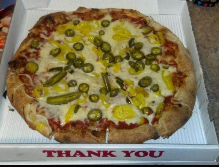 photo of pizza from Marina's Pizza in Westland, MI