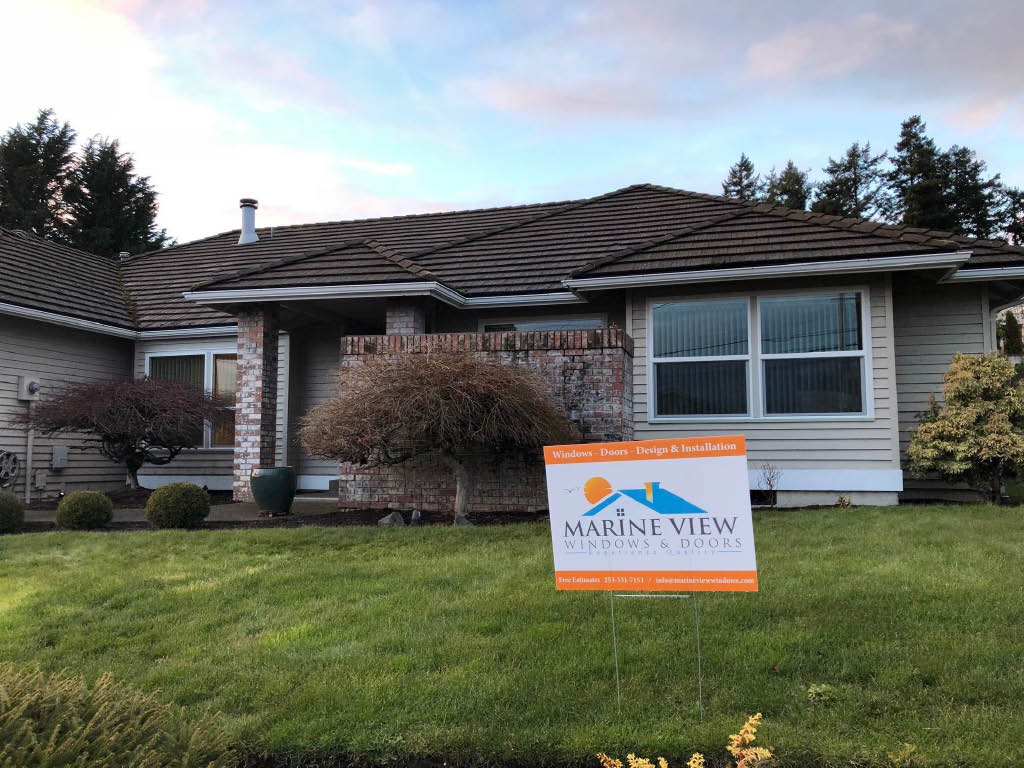 Marine View Windows & Doors services Tacoma, WA and surrounding areas - showroom in Fife, WA - window installation - window replacement companies near me - window and door replacement company near me