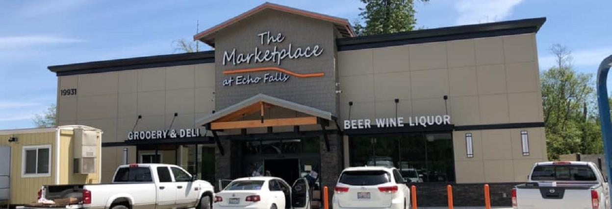 The Marketplace at Echo Falls in Snohomish, WA banner image