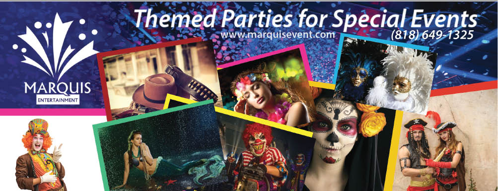 Coupons for themed party planners for special events in Glendale, CA