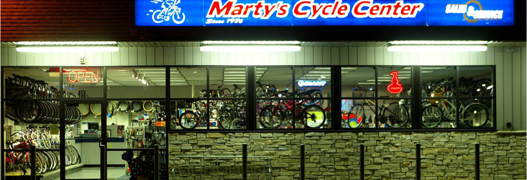 Marty's Cycle Center in Avon Lake, OH banner