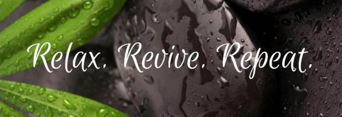 Relax. Revive. Repeat. banner