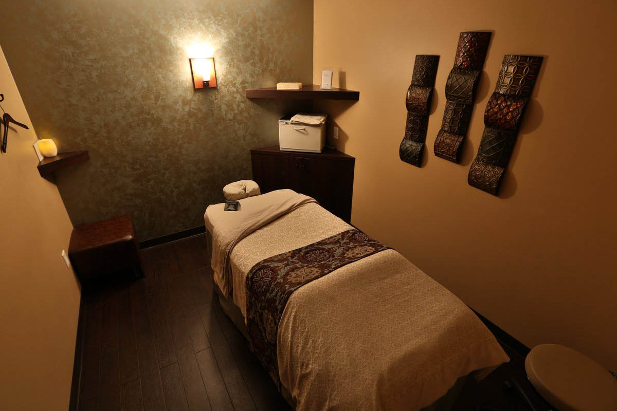 Massage Heights has quiet, calm and private massage rooms