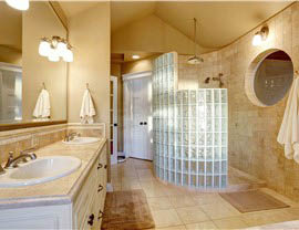 Don't waste time and energy on a slow bath remodel-contact us and have your elegant new bath or shower ready in just one day.