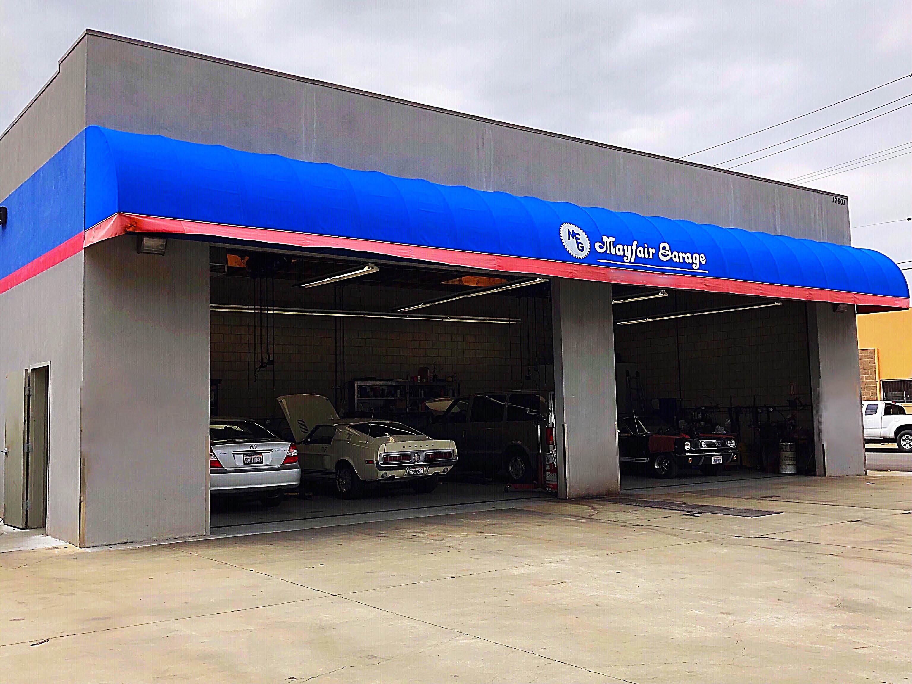 Mayfair Garage on Clark Avenue in Bellflower, CA