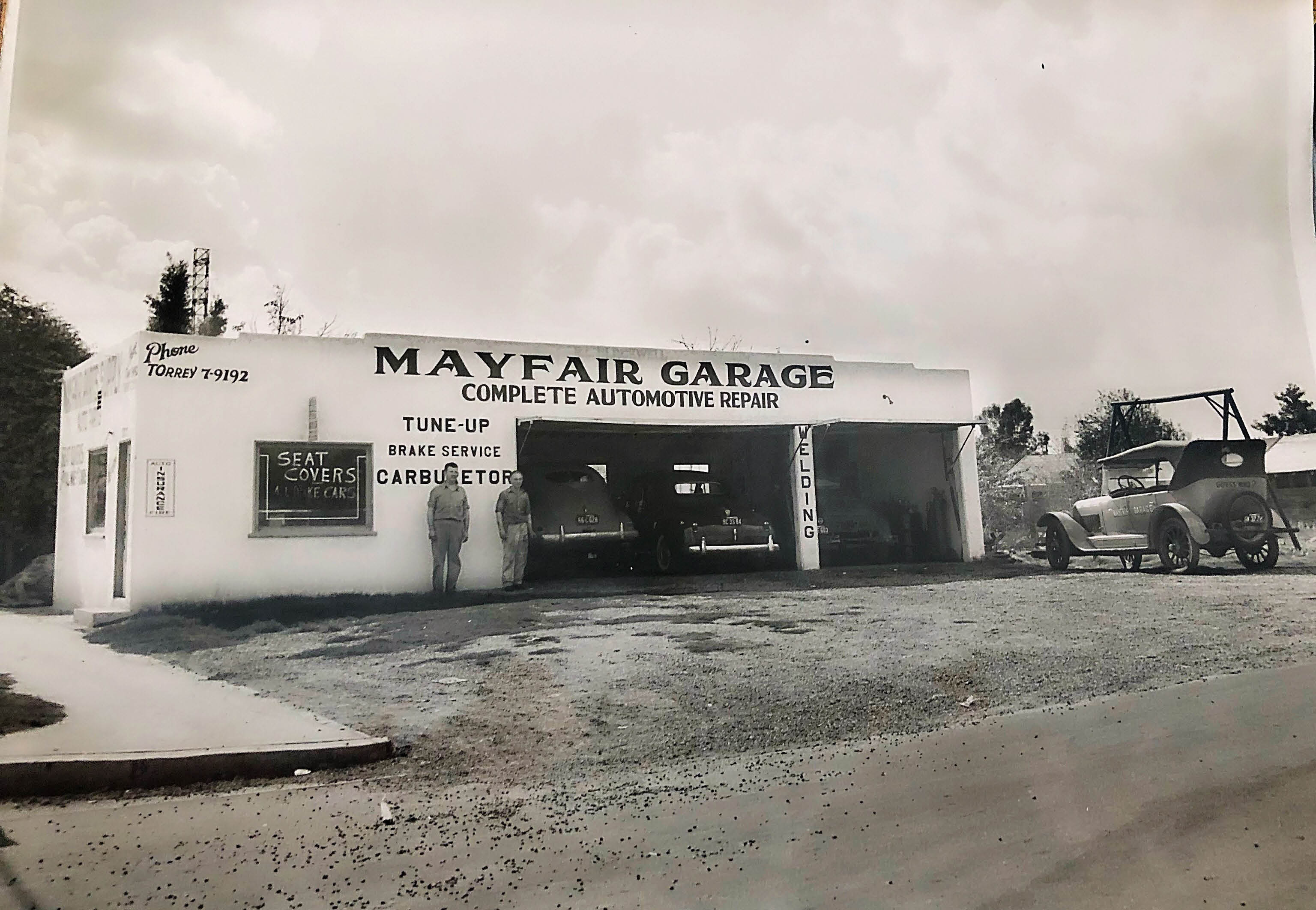 Mayfair Garage auto repair shop since 1946