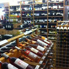 We are always fully stocked on all brands and types of wine