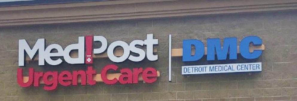 photo of exterior of MedPost Urgent Care in Southfield MI