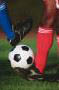 photo of foot and soccer ball representing sports physical from MedPost Urgent Care in Southfield & Bloomfield, MI