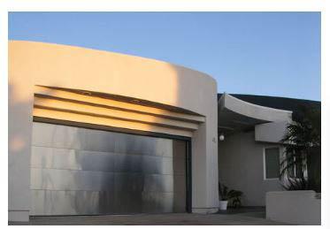 Sleek garage door installation near Ocean Beach