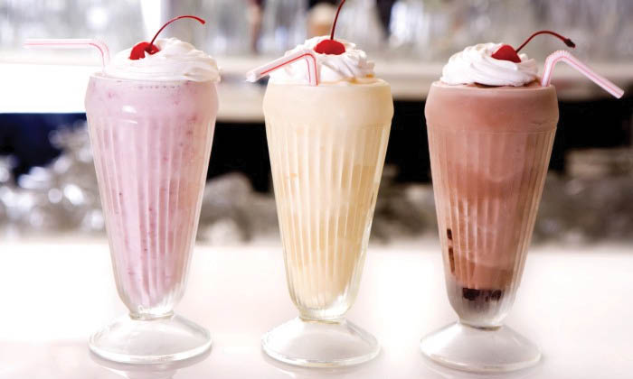 Enjoy a delicious milkshake with your meal at Medicine Creek Cafe in Olympia, Washington - Olympia restaurants near me - restaurants in Olympia - restaurant coupons near me - dining near me