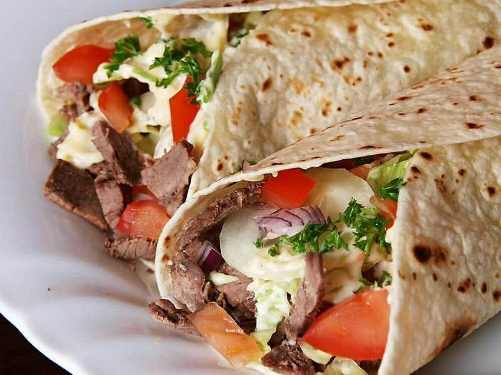 Gyro from Mediterranean Pizza & Grill in Morristown NJ