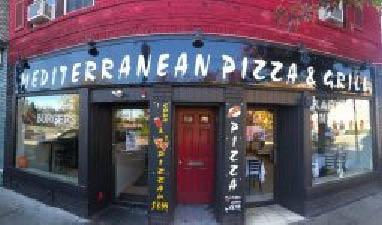 Mediterranean Pizza & Grill in Morristown NJ