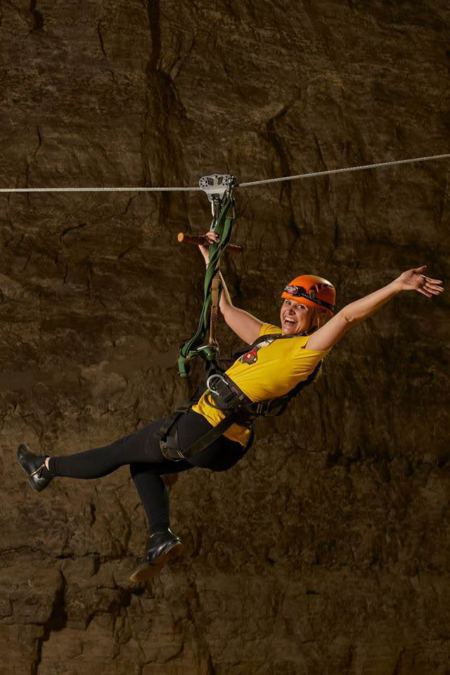 Louisville Mega Cavern underground, Fun, excitement, Ziplines, Bikes, Quest, Rope challenges, adventure, party, birthday party, Tram, all ages
