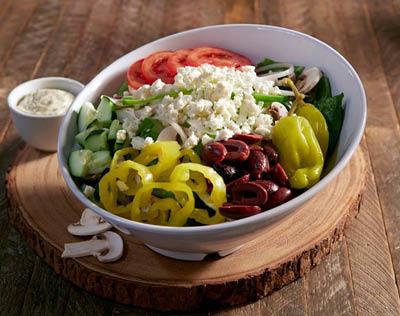 Picture of Mellow Mushroom - Highlands & St Matthews Skinny Shroom Salad