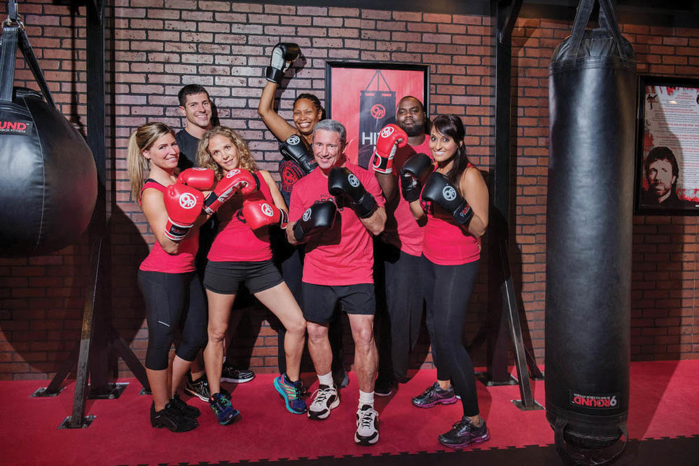 Happy members of 9Round 30 Min Kickbox Fitness in Bonney Lake, WA - Renton, WA - Puyallup, WA - kickboxing - fitness centers near me - health clubs near me - fitness coupons near me