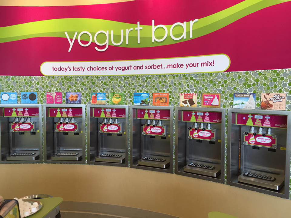 Menchie's Frozen Yogurt Eldersburg yogurt bar