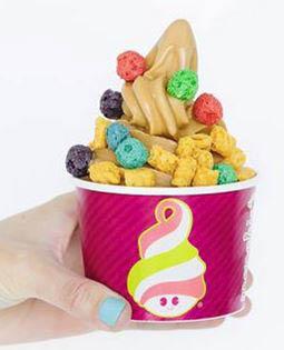 photo of frozen yogurt from Menchie's Frozen Yogurt in Baldwin Plaza in Orion, MI