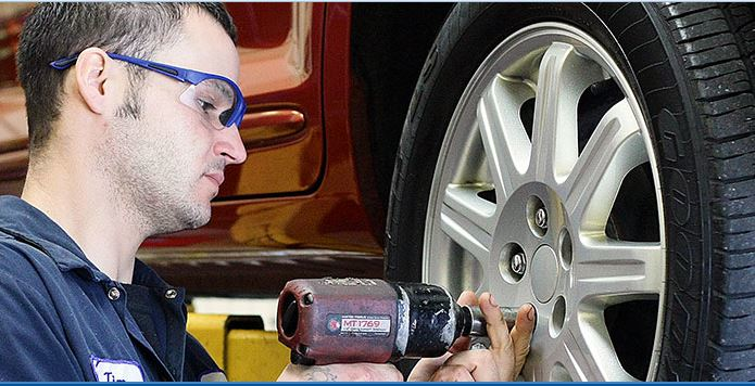We offer tire repair services at Merlin Hanover Park, IL