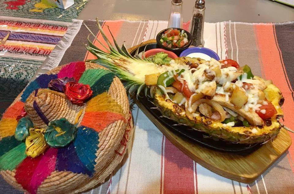 Pineapple Dish at Mi Rancho Mexican Grill in Newton, NJ