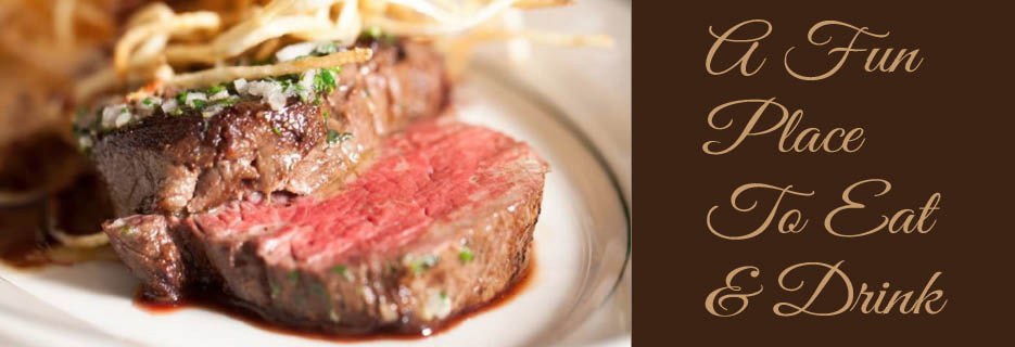 Steaks, Seafood, Bar, Drinks, Daily Specials, Salad, Dinner, Lunch
