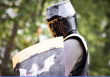 photo of knight at 2017 Michigan Renaissance Festival in Groveland Twp, MI