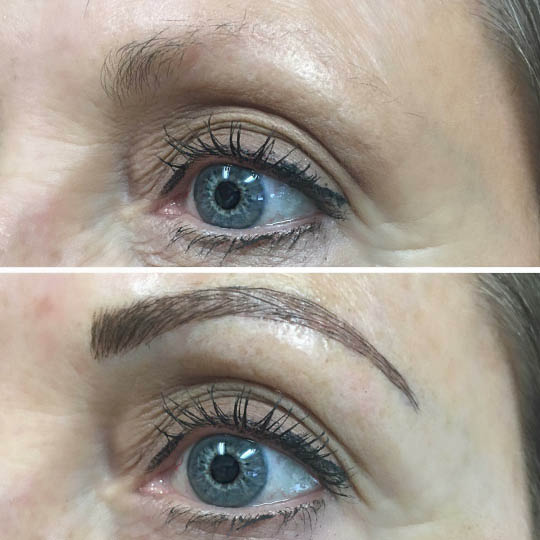 Microblading creates beautiful, realistic eyebrows. Find us in Kaysville, Clearfield, and Bountiful, Utah.