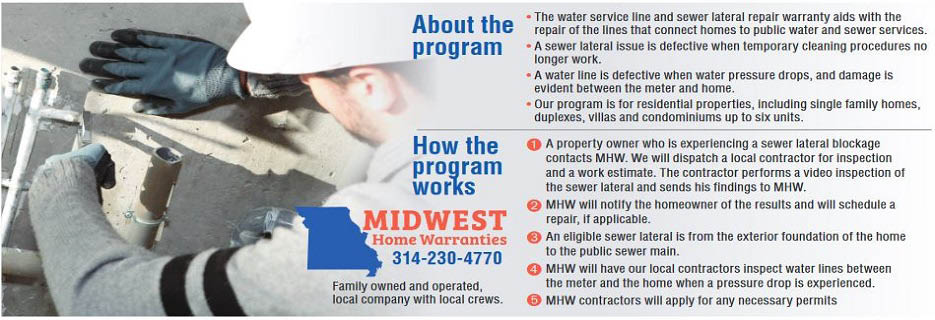 Midwest Home Warranties in St. Louis, MO banner