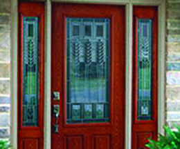 enhance the entryway of your home with a beautiful new door from Midwest Windows and Doors Chicagoland