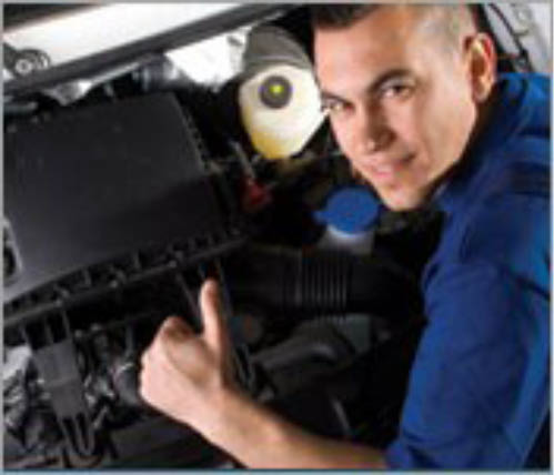 The backbone of Mighty Car Care Center is the highly qualified and ASE Certified auto mechanics
