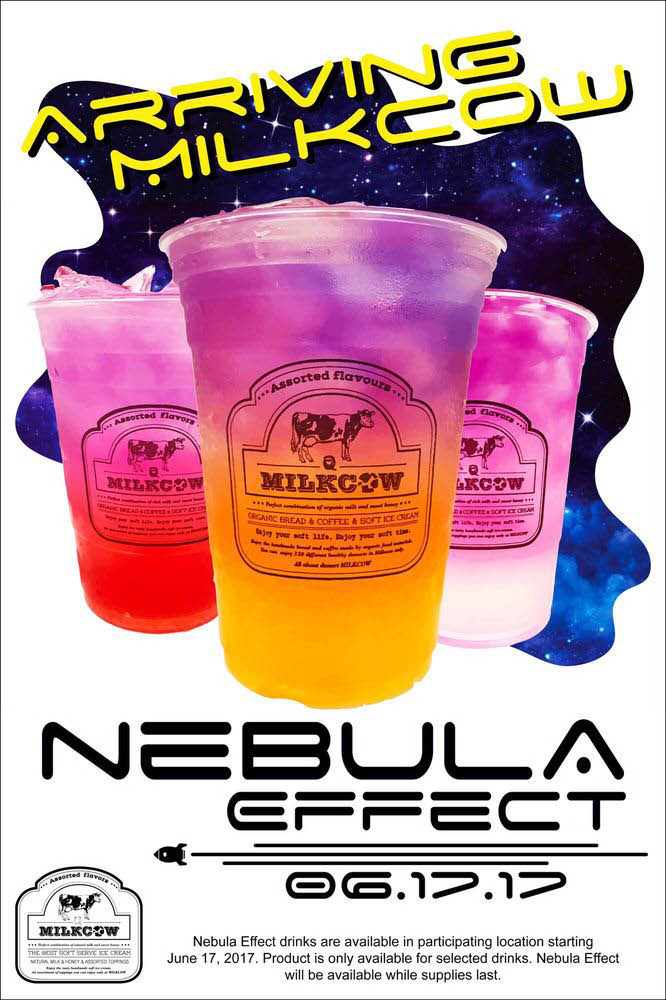 Nebula Effect Drinks that are out of this world near Hayward, CA