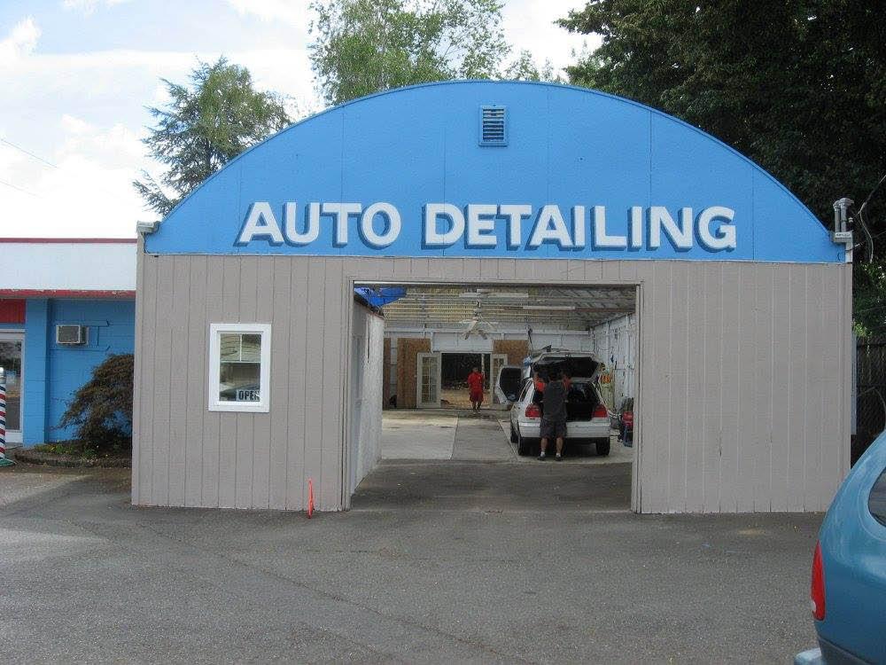 Exterior of Millennium Auto Detail shop in Tumwater, WA - auto detailers in Tumwater