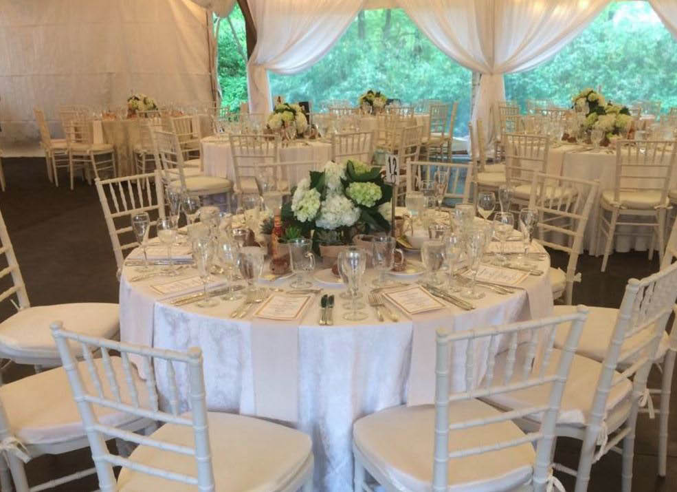 rentals, tables, chairs, events
