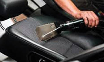 We thoroughly vacuum car interior areas at Mills Circle Car Wash