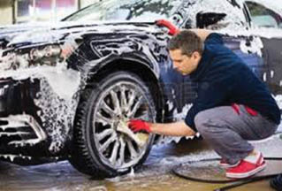 Your car will undergo a complete exterior cleaning including the car wheels