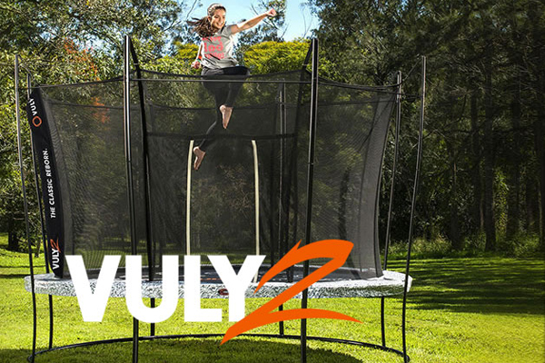 Photo of Vuly2 Trampoline from Rainbow Play Systems Madison