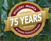 Celebrating 75 years from the Minder family to yours - Thank You!